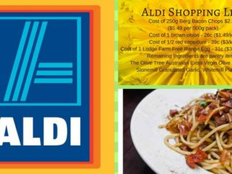 Aldi Free Foods Shopping List